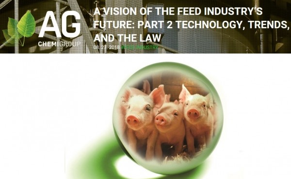 AG CHEMI GROUP, s r o  | A Vision of The Feed Industry's Future